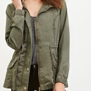 Jolt hooded cargo/ utility jacket